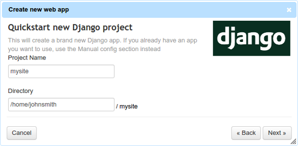 Simple Django Hosting: PythonAnywhere