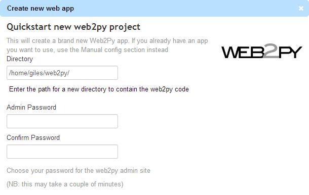 Pythonanywhere web2py hosting